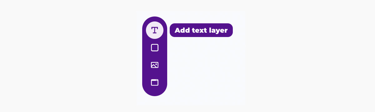 Placid template editor - create text element