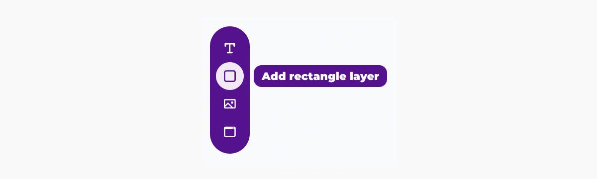 Placid template editor - create rectangle