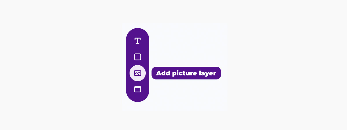 Placid template editor - create picture layer
