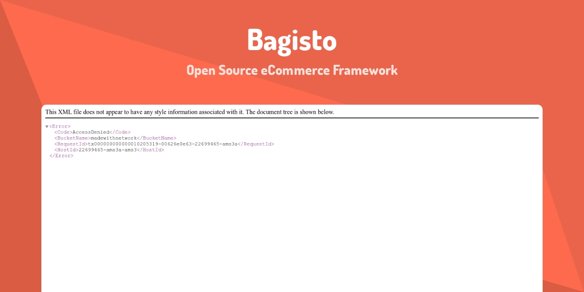 Bagisto - Made with Laravel