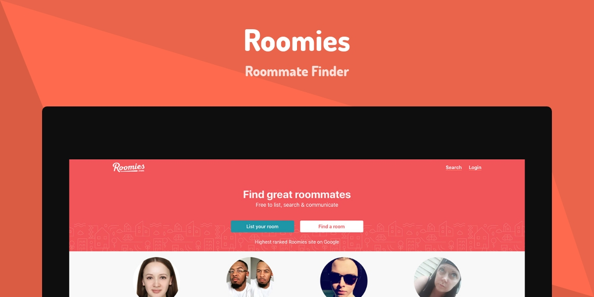 Roomies - Made with Laravel