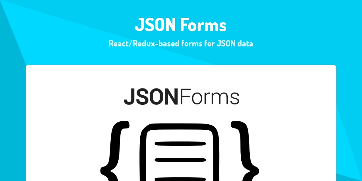 JSON Forms - Made with React js