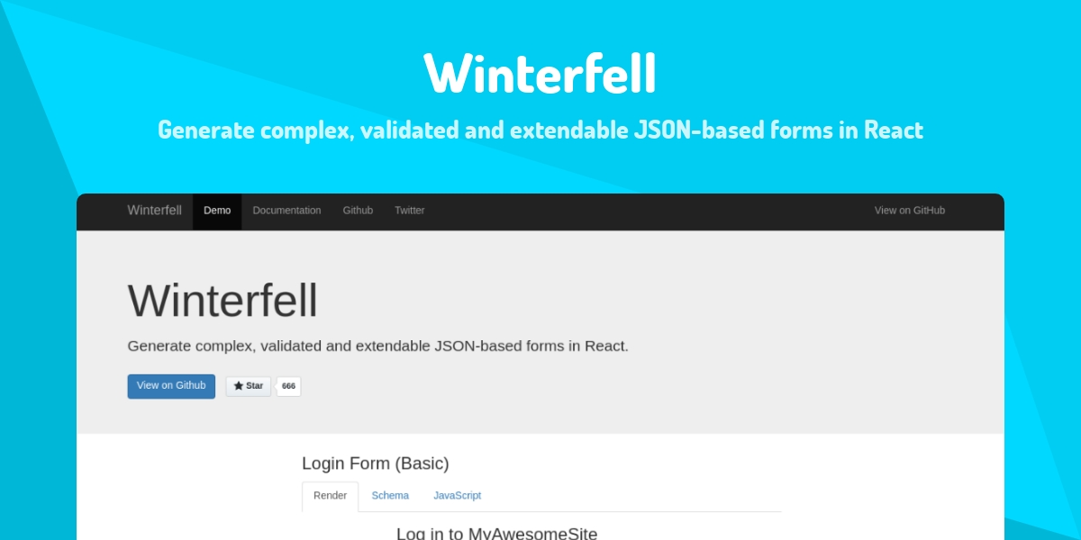 Winterfell - Made with React js