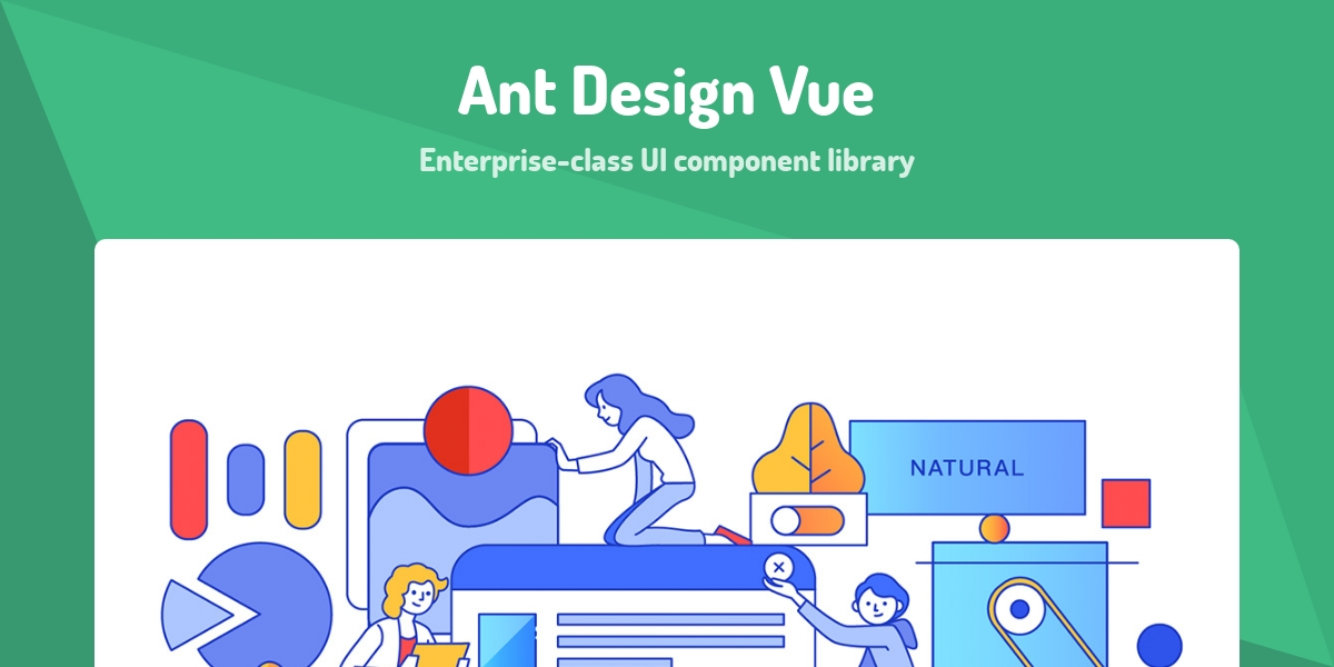 Ant Design Vue - Made with Vue js