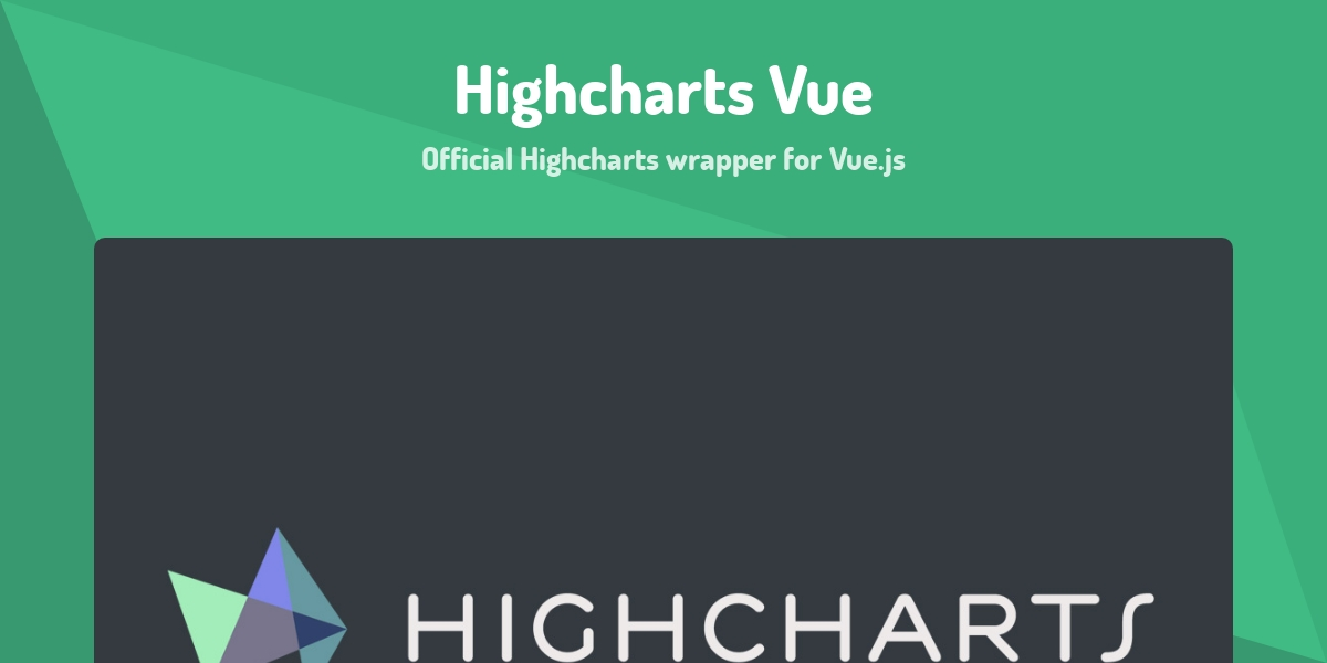 Highcharts Vue - Made with Vue js