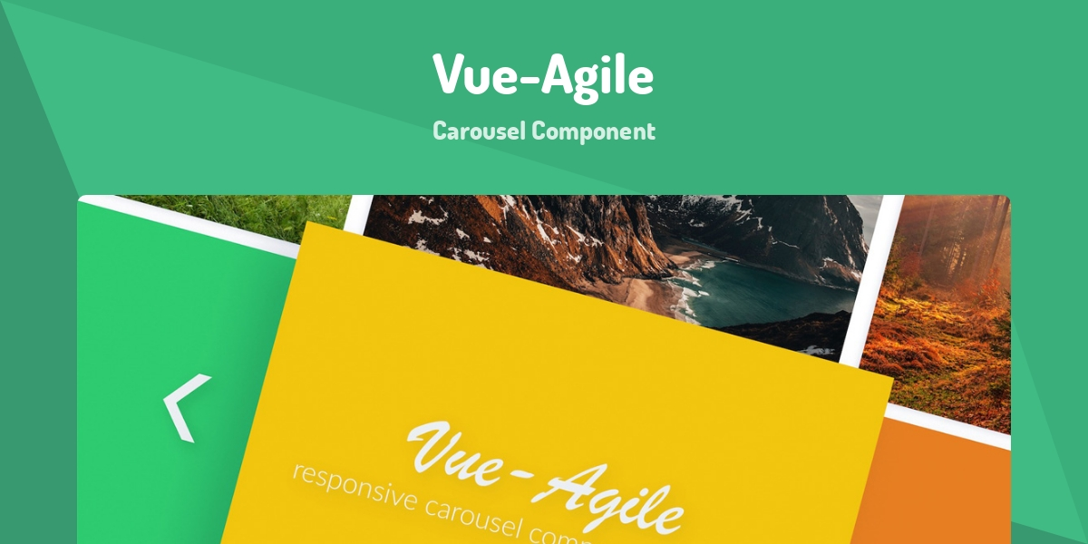 Vue-Agile - Made with Vue js