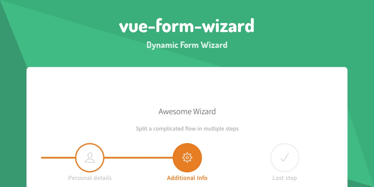 vue-form-wizard - Made with Vue js
