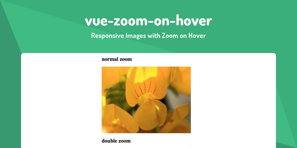 vue-zoom-on-hover - Made with Vue js