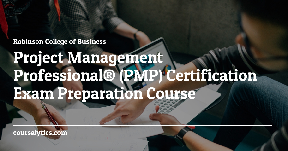 Project Management Professional Certification Exam Preparation