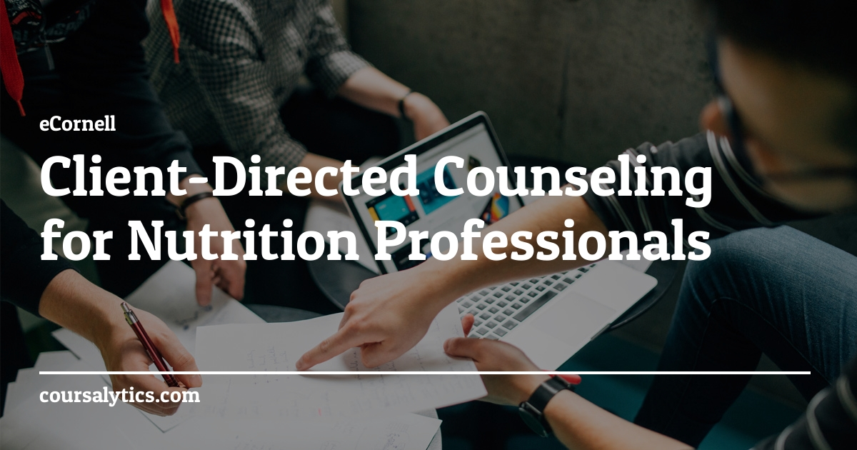 Client-Directed Counseling for Nutrition Professionals ...